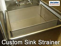 stainless steel strainers for restaurants and commercial kitchens