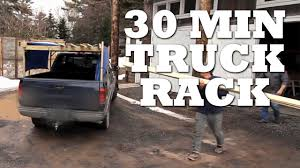100 Truck Pipe Rack How To Make A TRUCK RACK In 30 Minutes Or Less YouTube