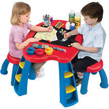 Step2 Deluxe Art Master Desk With Chair by Kids Art Table Ebay