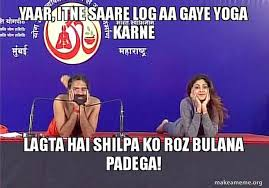 8 Hilarious Memes When Baba Ramdev And Shilpa Shetty Did Yoga Together