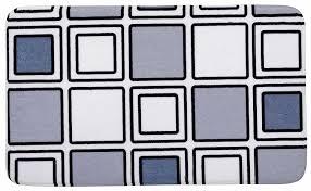 wenko badematte mono 45x75 cm weiß grau bad dusch teppich vorleger matte