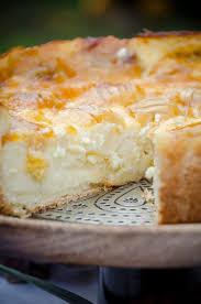 apfel schmand kuchen mit vanillepudding die puddingschule