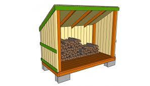Free 12x16 Shed Plans Pdf 10x12 With Loft Firewood Storage