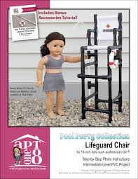 Beach Lifeguard Chair Plans by Peppermintsticks Pixie Faire