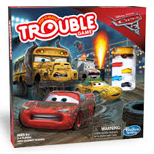 Trouble Game DisneyPixar Cars 3 Edition
