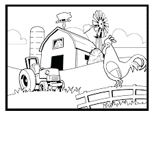 Full Image For Farm Animal Coloring Pages Printable Free Rooster Pictures To Print Kb Jpeg Sheets