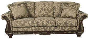 Ashley Larkinhurst Sofa And Loveseat by Ashley Signature Design Irwindale Traditional Sofa With Ornate