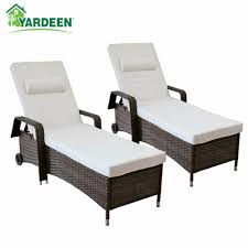 Yardeen 2 Pack Patio Chaise Lounge Chair Outdoor Poolside ... Pool Interior Chaise Longue Armchair Chair Trees Colorful Stackable Patio Fniture Lounge Chair Alinum Carlsbad Gray Wicker Chaise Products In 2019 Couch Vintage Rhanciepointcom French Upholstered Homall Outdoor Adjustable Poolside Set Portable And Folding Pe Rattan 1 Chairs By The Stock Image Of Remarkable Cushions Amusing Cozy For Exciting Commercial Recliner Automatic Back With 100 Olefin Cushion Beige Coral Coast Emersin Sling Outdooraise Loungeair Amazoncom Wo Westin Outdoor Hermosa