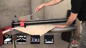 Ishii Tile Cutter Manual by Tilers Online Rubi Tx N Series Tile Cutter Youtube