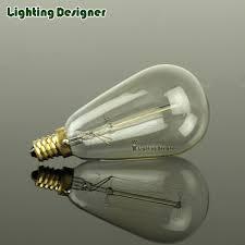 4pcs packed st15 vintage l retro filament edison light bulb