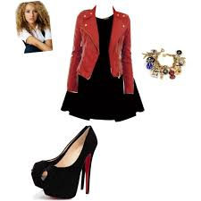 A Fashion Look From August 2013 Featuring Alaia Dress Zip Jacket And Black Heeled Shoes