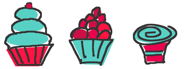 Small cupcake clipart