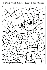 Hard Color By Number Coloring Pages Cauldron Page Free Printable