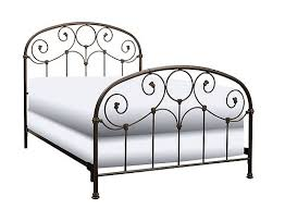 Raymour And Flanigan White Headboard by Metal Bed