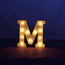 light letters 9 beige metal letters light led alphabet marquee
