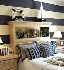 maritimes schlafzimmer schlafzimmer in weiß und blau