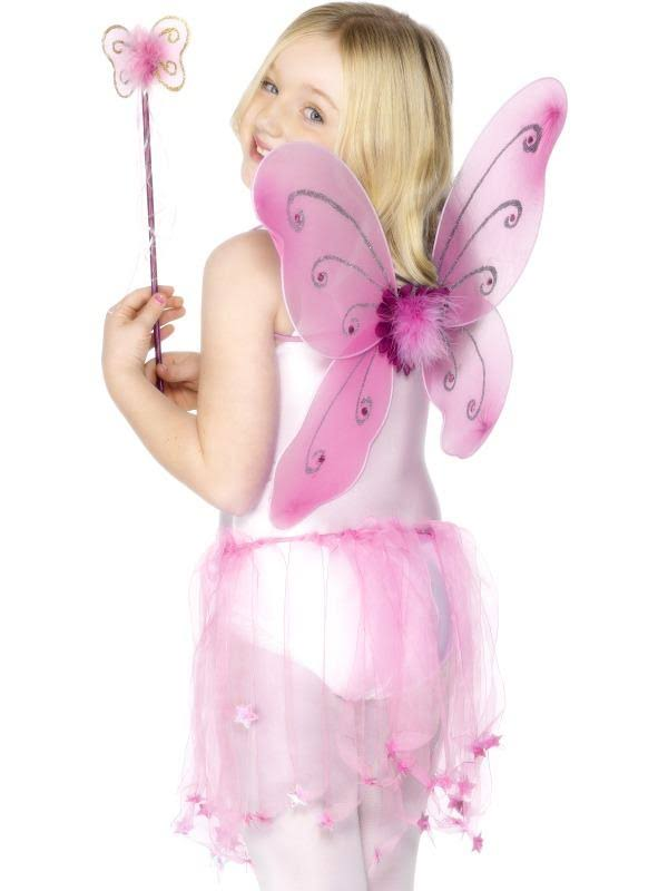 Butterfly Wings & Wand Pink