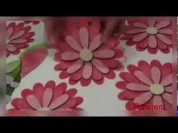 How To Decorate Your Room With Paper Flowers