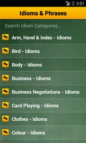 Idioms and Phrases Dictionary Android Apps on Google Play