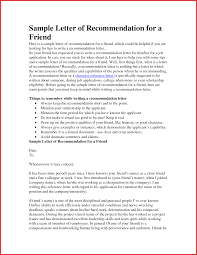 Reference Letter To A Friend Image collections Letter Format