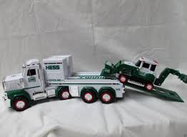 100 Hess Toy Trucks 2013 Truck And Tractor NIBUnopened NO Batteries Scuffed
