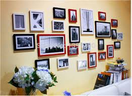 Multi Frame Wall Art Modern Love Family Decorations Home Decor Hang Photo Set