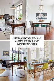 25 Ways To Match An Antique Table And Modern Chairs - DigsDigs Farmhouse Reimagined Antique White Extendable Trestle Ding Table M63 Luxury Italian Baroque Wooden Set Buy Burr Walnut Double Pedestal Base Bright Mansion Room Features An Stock Zy04 European Vintage By William Tillman Harrods And Ten Chairs At Home Fniture On Carousell A Beautiful Antique Victorian Oval Ding Table A Set Of 8 French Living Curved Back Solid Wood For Sale Ajjtimescom Progress Homestead Rooms Gothic Antiques Atlas