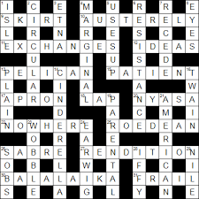 Kitchen Sink Drama Crossword by Guardian Cryptic 27 263 By Rufus U2013 Fifteensquared