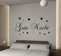 wandschnörkel wandtattoo schlafzimmer gute nacht sterne