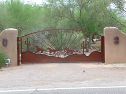Southwest Style Gates For Sale With FREE Installation