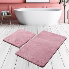 2 tlg badteppich set assonet ebern designs farbe lila