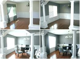 Dining Room Pretty Ideas Turning Living Into