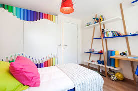 creative idea bedroom designs with colorful