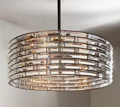 Pottery Barn Bedroom Ceiling Lights by Regent Curved Crystal Chandelier Pottery Barn Lighting