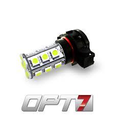 opt7 5202 h16 advanced bright 27 smd led fog light bulbs