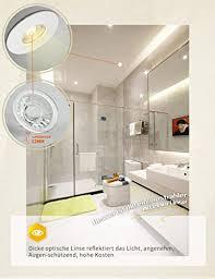 led decken einbaustrahler badezimmer einbau spot badeinbaustrahler mit glas 6x4w 230v ip44 led spot bad stahler einbauleuchte bad deckenspot