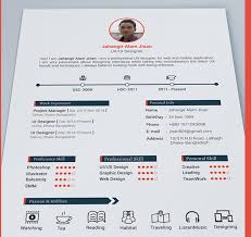 Best Free Resume Templates In PSD And AI In 2018