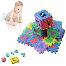 Alphabet & Numerals Baby Kids Play Mat Educational Toy Soft Foam