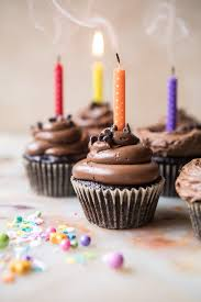 The Best Chocolate Birthday Cupcakes with Fudgy Chocolate Buttercream