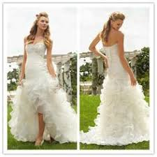 2013 New Arrival Sexy Sweetheart High Low Wedding Dress 20800