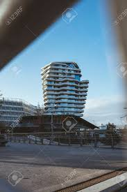 100 Marco Polo Apartments Tower Futuristic Residential Building In