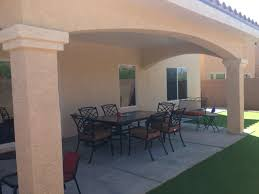 Patio Covers Las Vegas Nv by Stucco Patio Cover From This Company Yelp