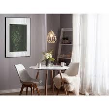 hängeleuchte gold metall glühbirnen optik schirm mit gitter in diamantform industrie design für wohnzimmer esszimmer flur