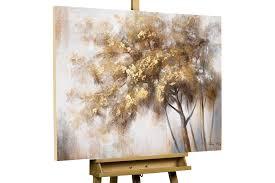 Kleines Wohnzimmer Gemã Tlich Gestalten Acryl Gemälde Hello Autumn 100x75cm