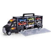 100 Matchbox Car Carrier Truck Amazoncom JOYIN 15 Heavy Duty Transport Rier Toy
