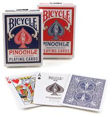 deck pinochle 4 player bicycle pinochle cards colors may vary toys