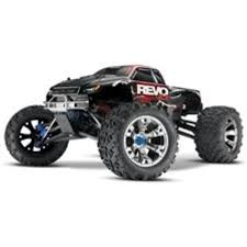 ParkFlyers 53097 Traxxas Revo 3.3 0.1 Scale 4Wd Monster Truck - Rc ... My Traxxas Rustler Xl5 Front Snow Skis Rear Chains And Led Rc Cars Trucks Car Action 2017 Ford F150 Raptor Review Big Squid How To Convert A 2wd Slash Into Dirt Oval Race Truck Skully Monster Color Blue Excell Hobby Bigfoot 110 Rtr Electric Short Course Silverred Nassau Center Trains Models Gundam Boats Amain Hobbies 4x4 Ultimate Scale 4wd With Adventures 30ft Gap 4x4 Edition