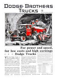 Dodge Trucks Advertising Art By Fred Cole (1929-1932): Dependable In ...