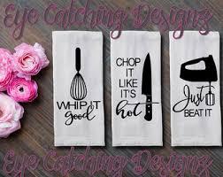 Funny Flour Sack Towel Kitchen Tea Song Lyrics Music 90s House Warming Christmas Gift Wedding