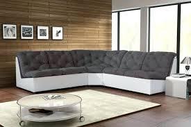 canapé gris et blanc pas cher canape canape d angle tissu canapac dangle modulable en gris blanc